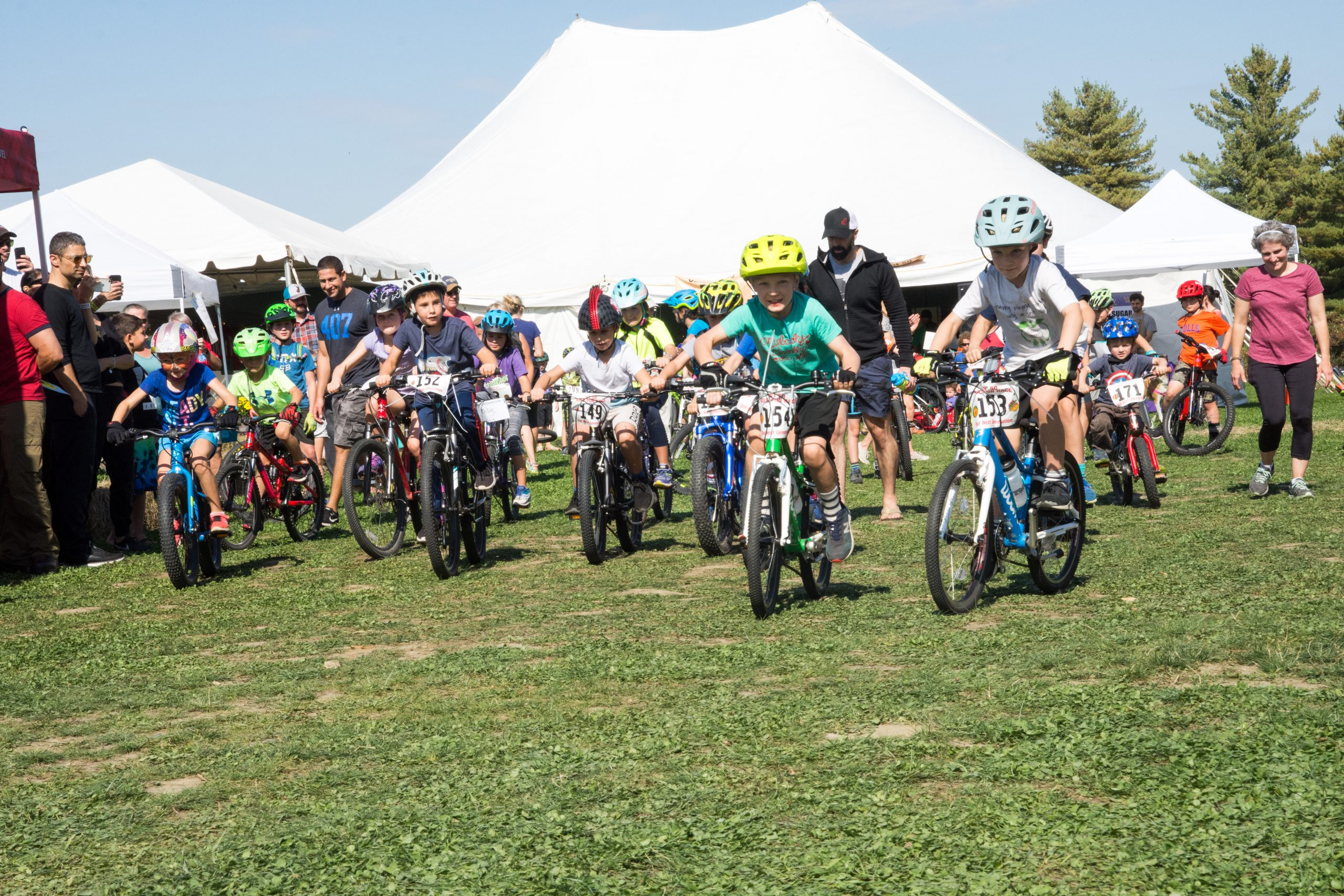 27th Annual Vermont 50 Mountain Bike or Ultra Run-Saturday Kids